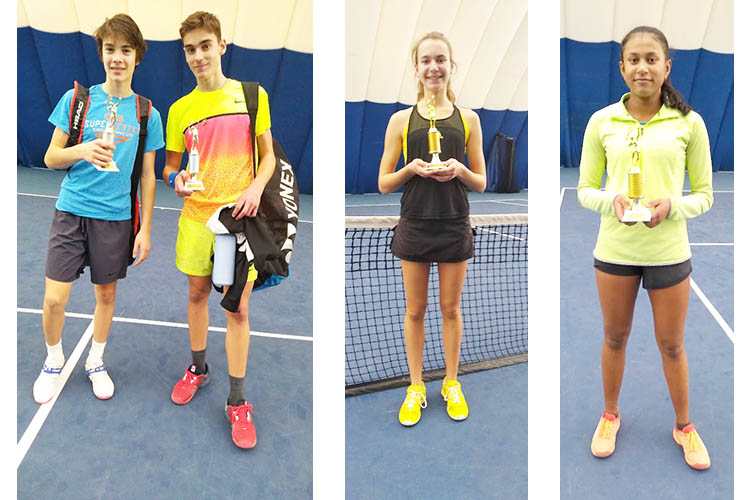 December 22 U16 Provincial Circuit Results